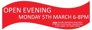 OPEN DAY BANNER MAR 12